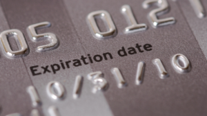 What to do with an old or expired credit card