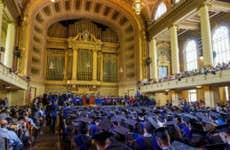Graduation at Yale law school.