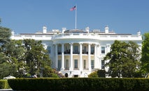 White House on a sunny day