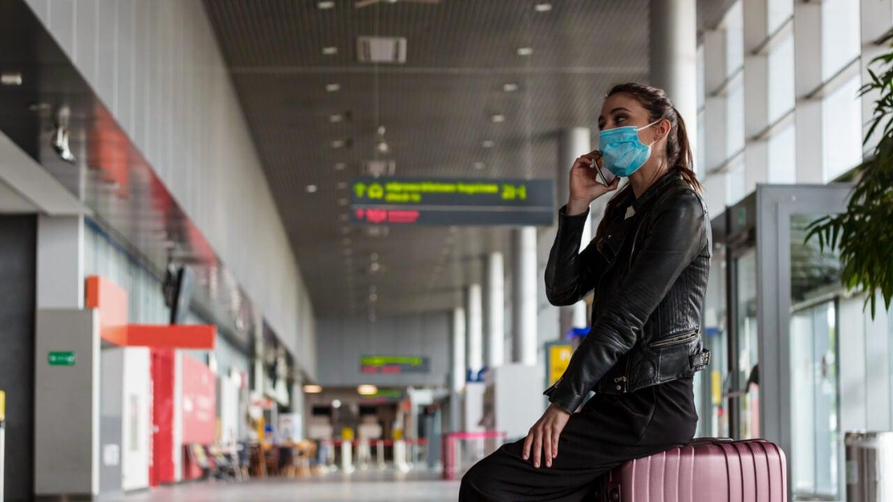Flight canceled due to coronavirus