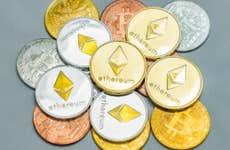 A picture of various cryptocurrencies