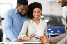 can you buy a car with a credit card