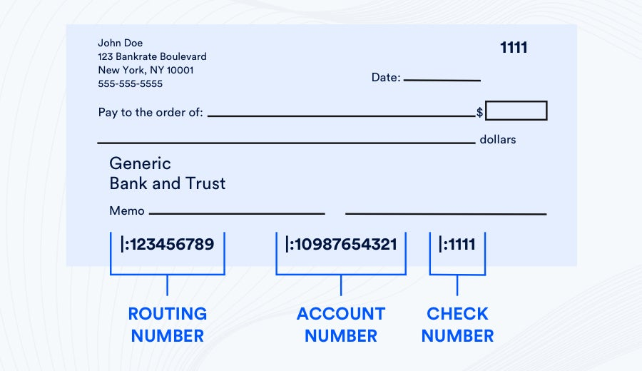 What Is The Routing Number On A Check And How Does It Work Bankrate