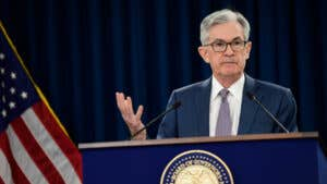 Fed decision: Interest rates held steady, sees rates at zero through at least 2023