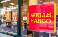 A Wells Fargo entrance