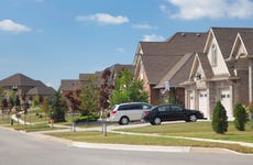 house neighborhood cars