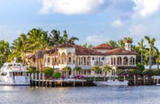 A waterfront mansion in Fort Lauderdale