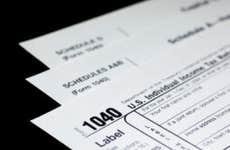 A photo of IRS Form 1040