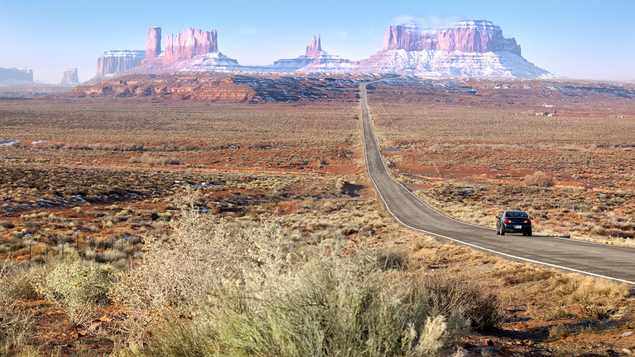 Scenic open expanse in Arizona.