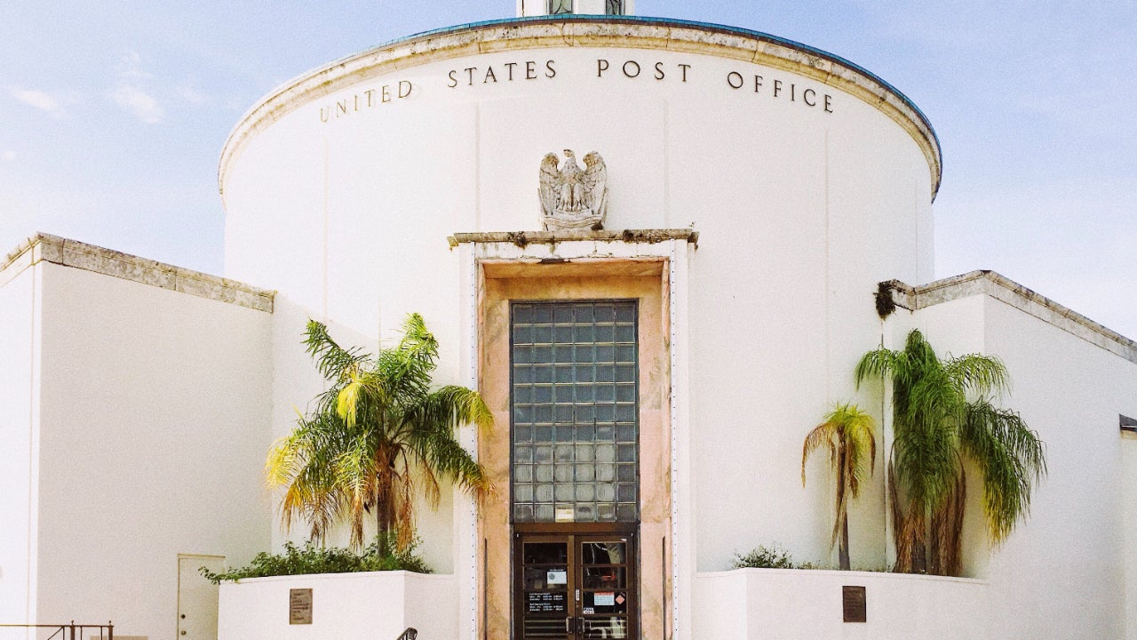 A post office in Miami.