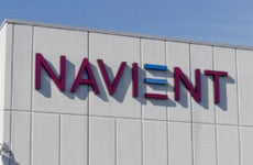 Exterior of a Navient building