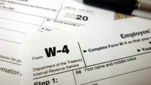 Tax withholding definition: When and how to adjust your IRS tax withholding