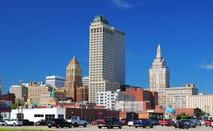 The skyline of Tulsa.