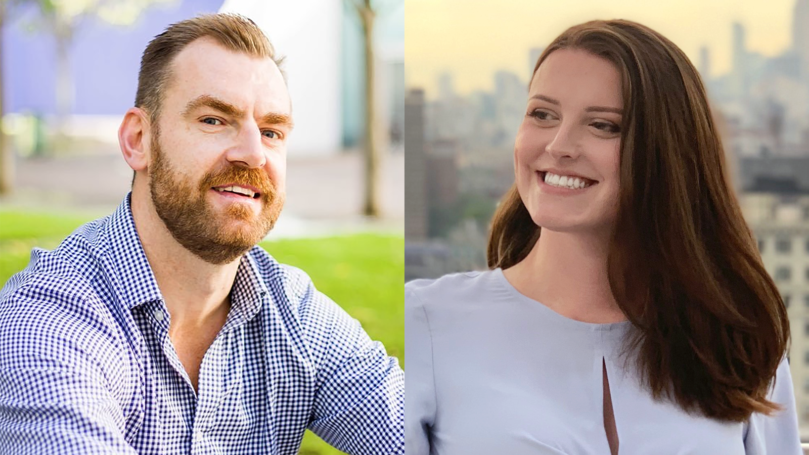 A headshot of the Daylight cofounders