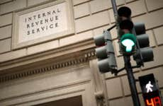 The IRS headquarters