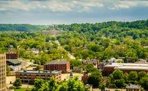 Shot of Frankfort, Kentucky.