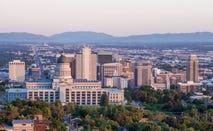 View of Salt Lake City