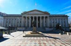 The Treasury building/