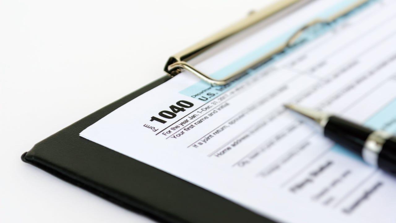 USA income take Form 1040