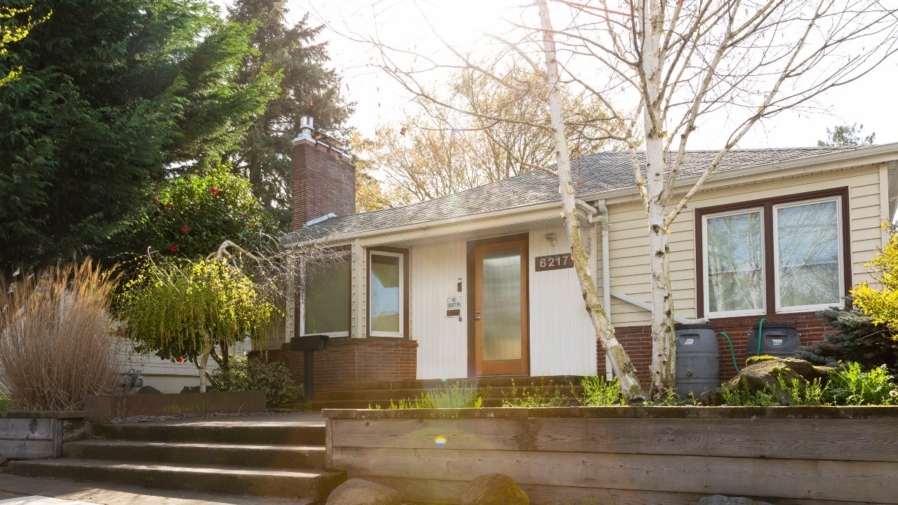 A bungalow-style home in Portland, Oregon
