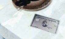 Amex Platinum card on table