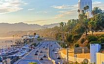 California traffic in San Diego.
