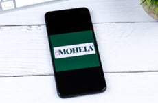 MOHELA app on a smartphone