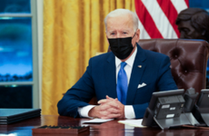 President Joe Biden in the Oval Office