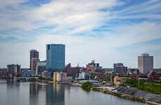Toledo from the Skyway Bridge
