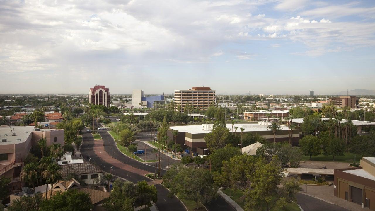 Mesa skyline