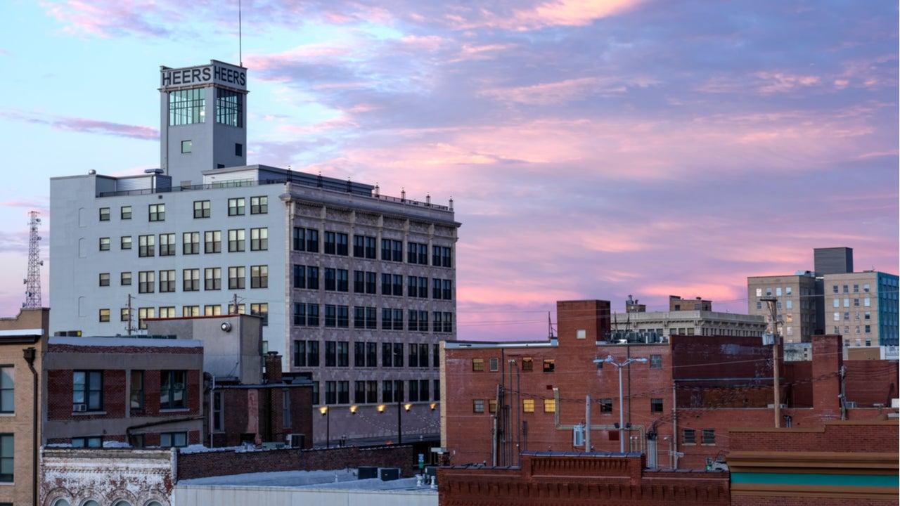 The Heer's building, Springfield, Missouri