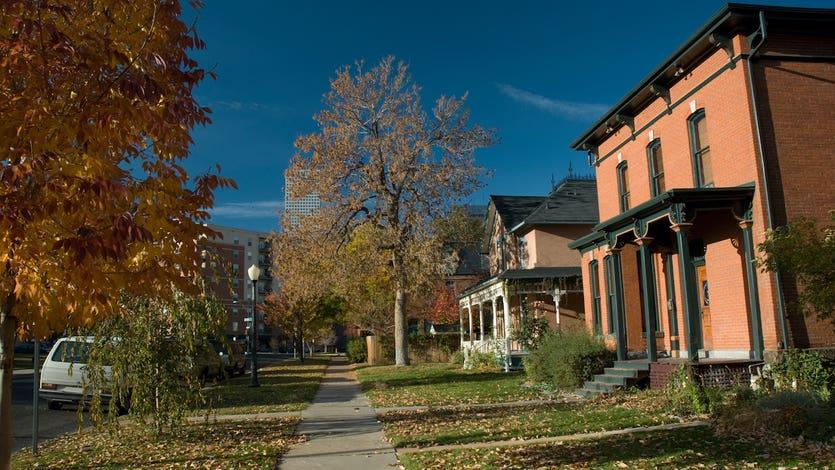 Residential neighborhood, Denver