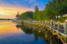 Boardwalk in Lake Villages, Florida