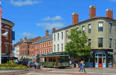 Market Square in Downtown Portsmouth, New Hampshire