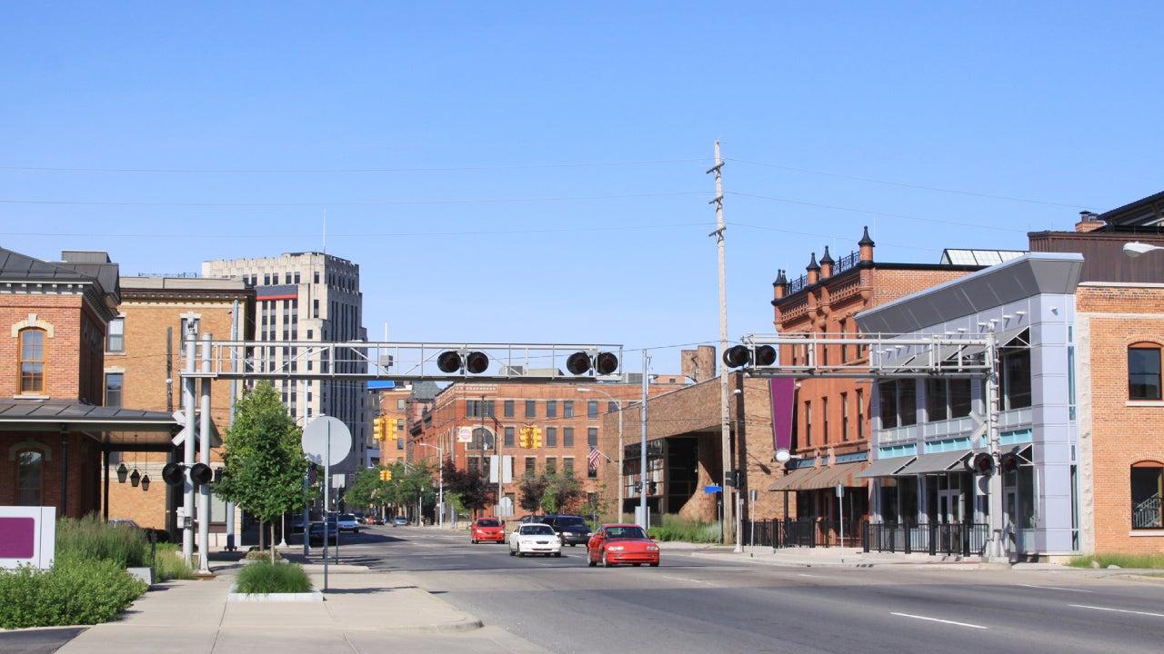 Downtown Kalamazoo, Michigan