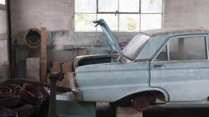 Insurance for a salvage car