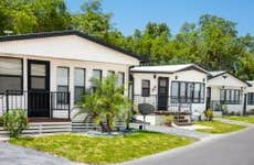 Manufactured mobile home community