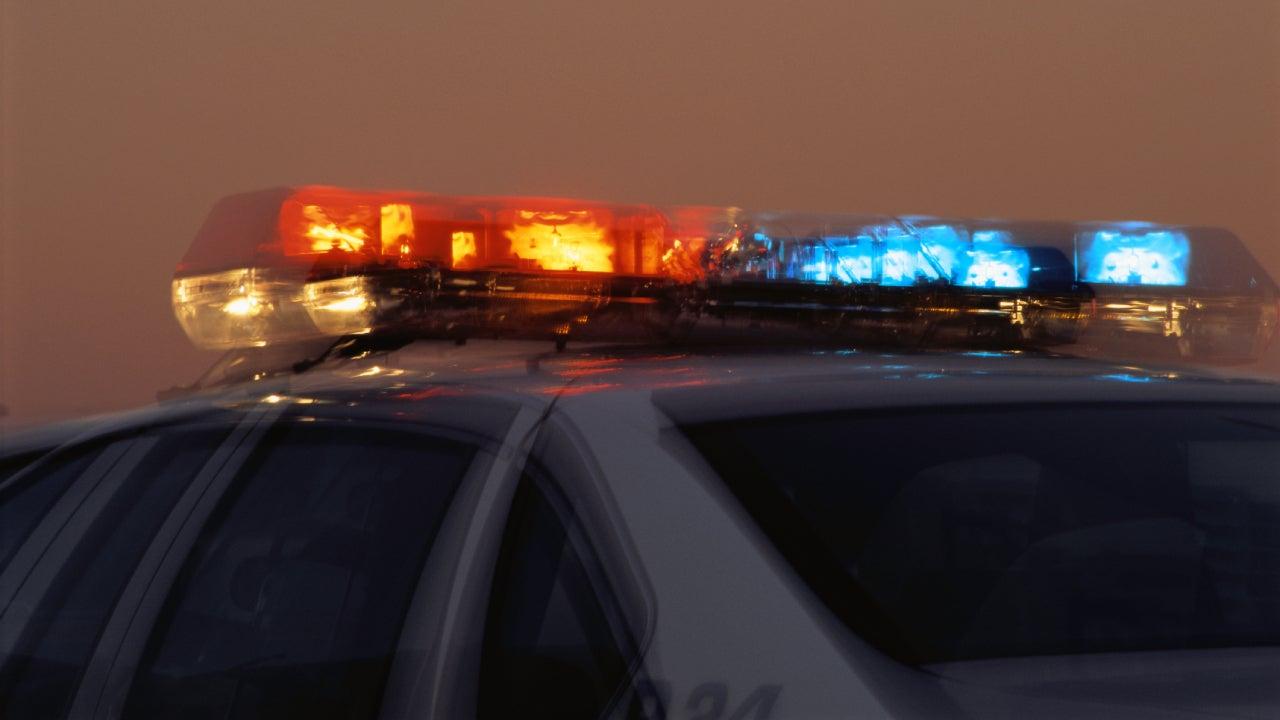 Light Bar on Police Car
