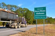Sweet Home Alabama road sign
