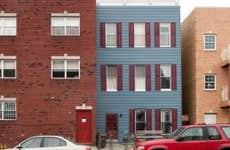 Row houses in Brooklyn.