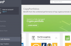 eToro review screen