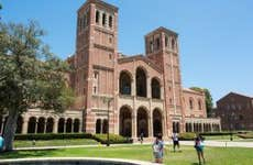 UCLA campus in the afternoon