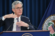 Federal Reserve Chairman Jerome Powell speaks at a press conference after an FOMC meeting.