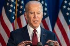 President Biden makes a presidential address