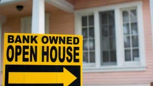 What are bank-owned properties?