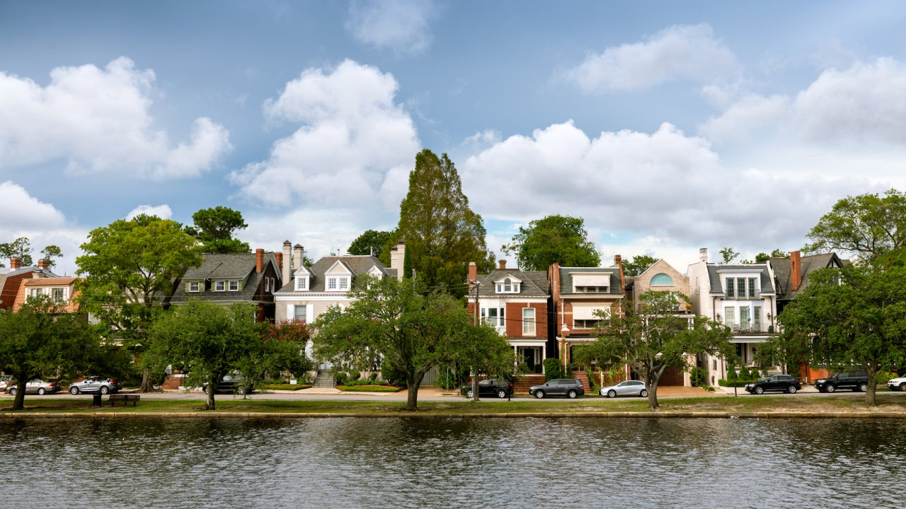 Norfolk Virginia Cityscapes, Ghent Historic District