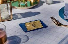 Amex Gold sitting on table
