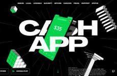 A picture of the Cash App sign in screen