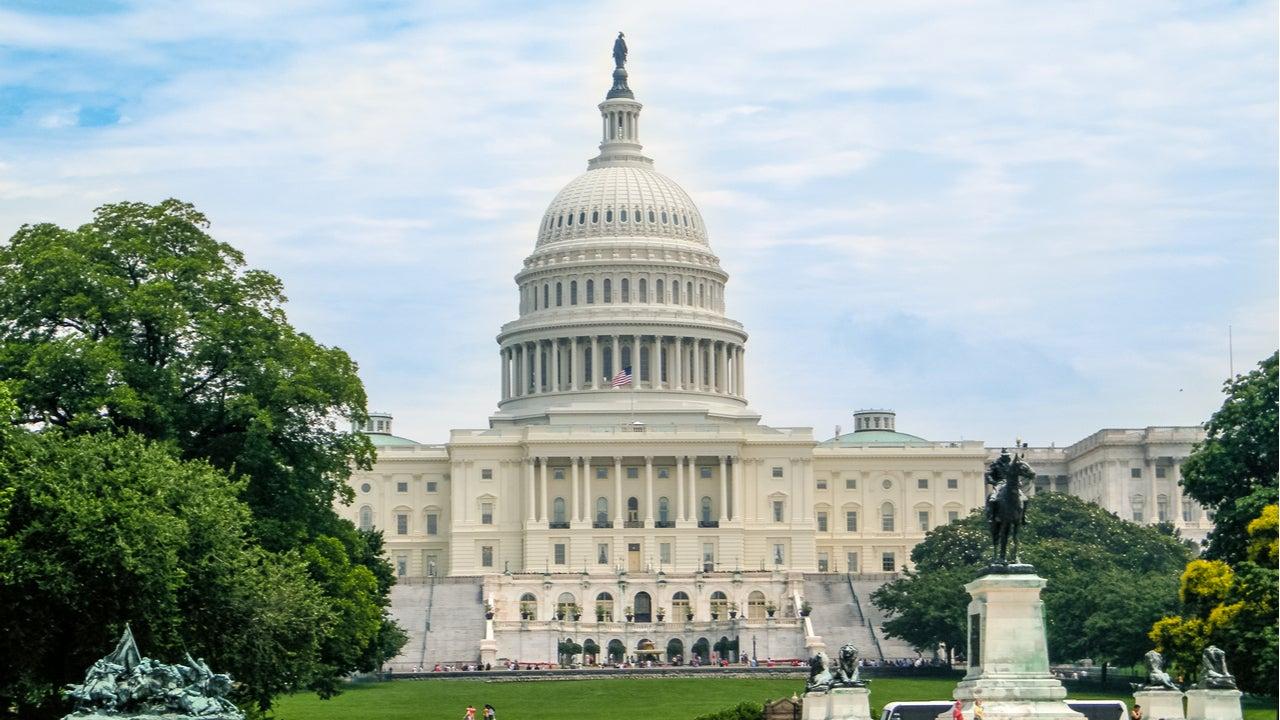Exterior of U.S. Capitol building
