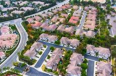 Suburban Subdivision Aerial